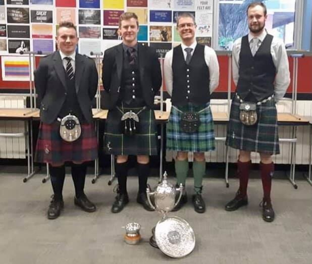 Wellington Pipers Club Annual Comp
